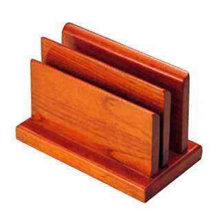 【まとめ買い10個セット品】木製ハイブラウン W型メニュースタンド 15239【 メニュースタンド 業務用 卓上メニュースタンド 卓上 ブックスタンド 人気 メニュー立て ブック立て おすすめ テーブルメニュースタンド 】 【ECJ】