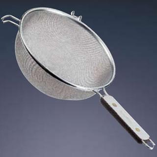 【まとめ買い10個セット品】『 スープ漉し ストレーナー 』TSステンレス ローズ柄ストレーナー 25cm