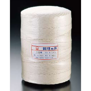 【まとめ買い10個セット品】SA綿 調理用糸 10号[玉型バインダー巻1kg] 【 肉たたき 肉つり関連品 】