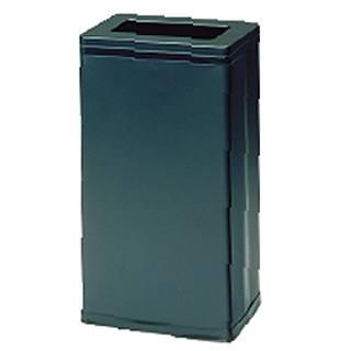 【まとめ買い10個セット品】角型屑入 OSL-21N(ブラック)【 店舗備品 ごみ箱 】 【ECJ】
