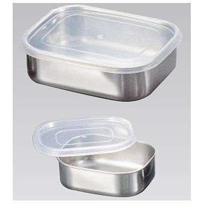【まとめ買い10個セット品】『 シール容器 キッチンバット 』エコクリーン 18-8角フリージング 大