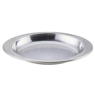 【まとめ買い10個セット品】エコクリーン IKD18-8給食皿 小判型