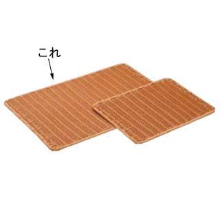 【まとめ買い10個セット品】樹脂製すのこ 茶 大 91-021B