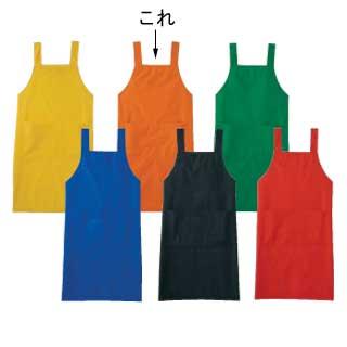 【まとめ買い10個セット品】エプロン A-1765 L (オレンジ)