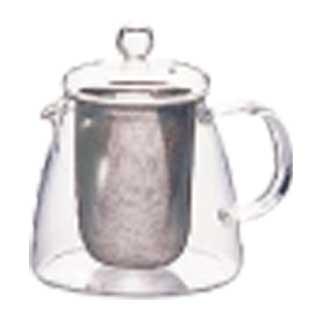 【まとめ買い10個セット品】ティーサーバー 業務用【 ハリオ リーフティーポット・ピュア CHEN-36T 】【 ティーサーバー紅茶ティーメーカー 】