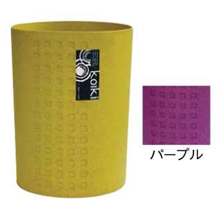 【まとめ買い10個セット品】コイキ モダン 丸型(小) 4.5L (PL)パープル