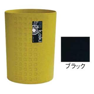 【まとめ買い10個セット品】コイキ モダン 丸型(小) 4.5L (BK)ブラック