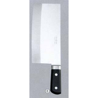 【業務用】イノックス中華包丁 ツバ付 210mm