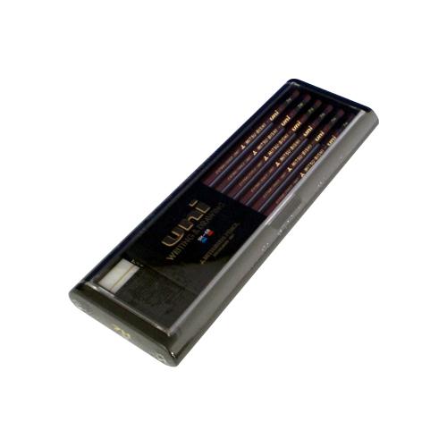 【まとめ買い10個セット品】 鉛筆 ユニ スタンダード U7H 【ECJ】