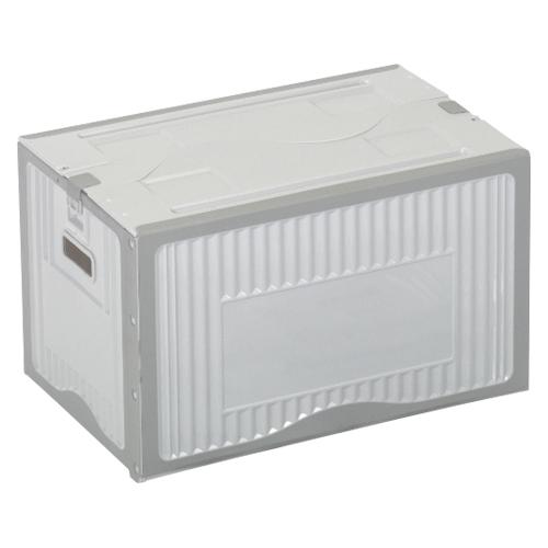 【まとめ買い10個セット品】リスボックス グレー リスボックス53B(LGY/GY) ライトグレー/グレー 1個 岐阜プラスチック工業【ECJ】