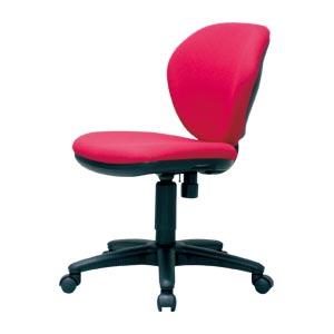 【まとめ買い10個セット品】オフィスチェア K-921 K-921(RD) レッド 1脚 【メーカー直送/代金引換決済不可】【 オフィス家具 OAチェア イス 椅子 】【ECJ】