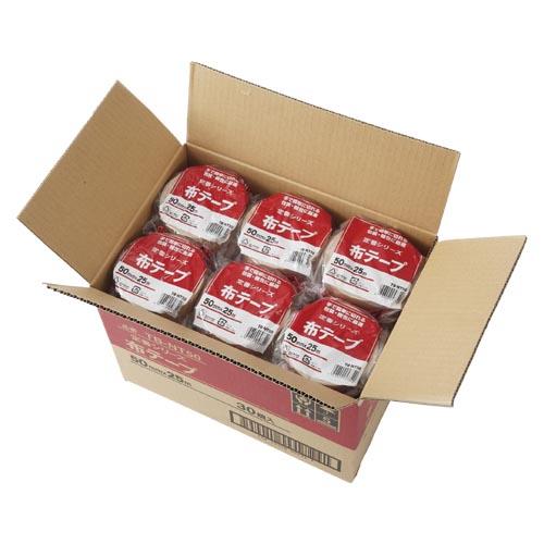【まとめ買い10個セット品】布テープ TB-NT50×30 30巻 【メーカー直送/代金引換決済不可】【 梱包 作業用品 梱包テープ 養生テープ 布テープ 】【ECJ】