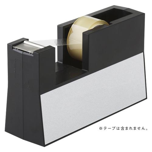 【まとめ買い10個セット品】テープカッター 直線美[TM] 小巻用 TC-CBK6 黒 1個 ニチバン【 事務用品 貼 切用品 テープカッター 】【ECJ】