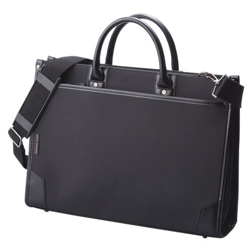 【まとめ買い10個セット品】ビジネスバッグ CR-BB722-B 黒 1個 クラウン【 ファイル ケース ケース バッグ ビジネスバッグ 】【ECJ】