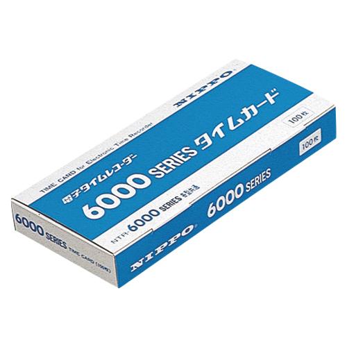 【まとめ買い10個セット品】 タイムカード/インクリボン タイムカード 6000シリーズ用 【ECJ】