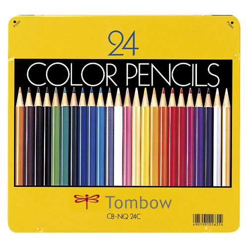【まとめ買い10個セット品】色鉛筆 CB-NQ24C 1セット トンボ鉛筆【 筆記具 鉛筆 下じき 色鉛筆 】【ECJ】