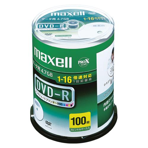 【まとめ買い10個セット品】 PC DATA用 DVD-R パソコンデータ用1回記録タイプ DVD-R 1-16倍速対応 DR47WPD.100SPA 【ECJ】