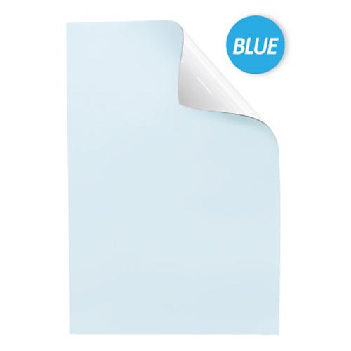 【まとめ買い10個セット品】吸着ホワイトボードシート MKS-6090B ブルー 1枚 マグエックス 【メーカー直送/代金引換決済不可】【ECJ】