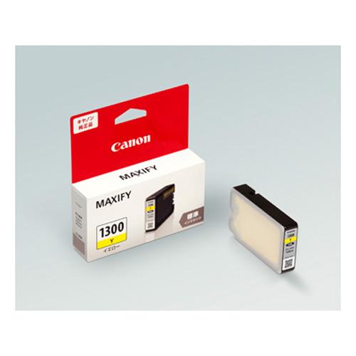 【まとめ買い10個セット品】インクジェットカートリッジ PGI-1300Y 1個 キヤノン【ECJ】