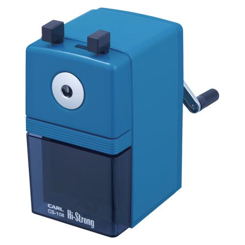 【まとめ買い10個セット品】ハイストロング CS-108-B ブルー 1個 カール【筆記具 鉛筆 下じき 鉛筆削器】【ECJ】