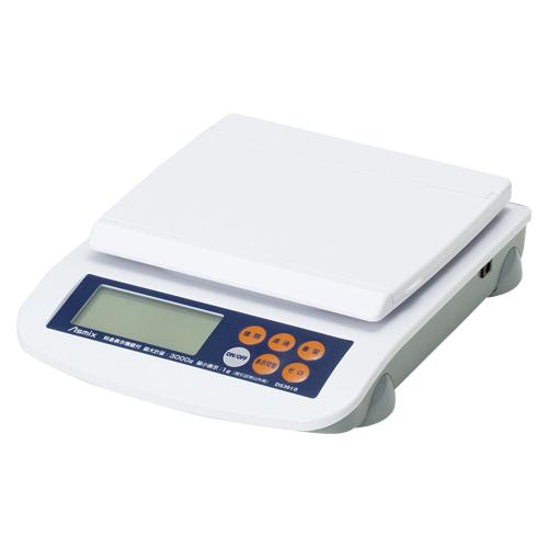 料金表示デジタルスケール3kg DS3010 1台 アスカ【ECJ】