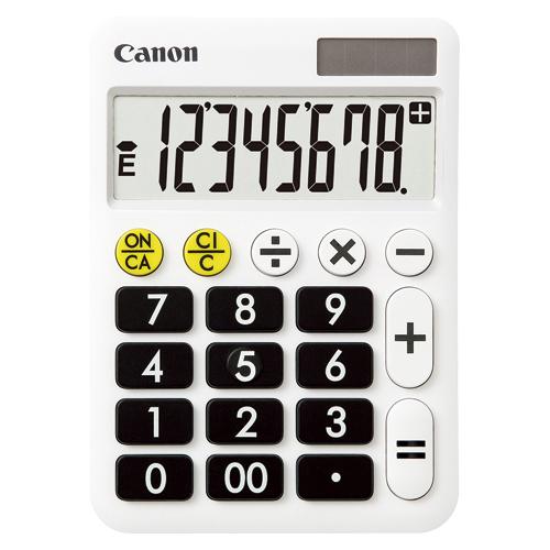 【まとめ買い10個セット品】電卓 LF-80 1台 キヤノン【ECJ】