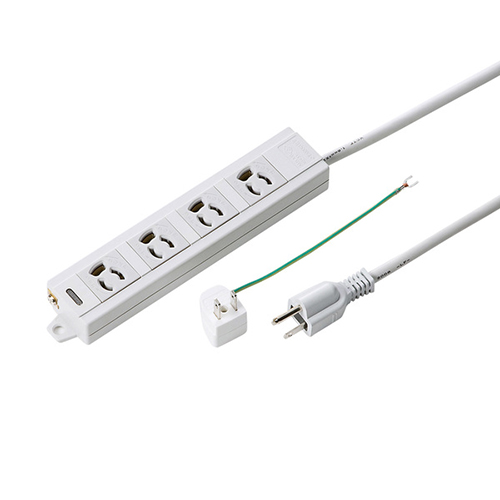 【まとめ買い10個セット品】電源タップ TAP-MG341N2-5 1個 サンワサプライ【ECJ】