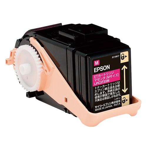 【まとめ買い10個セット品】カラーレーザートナー LPC3T33M 1本 エプソン【ECJ】