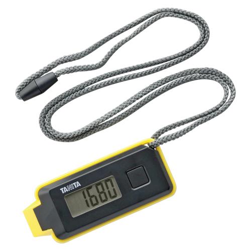 【まとめ買い10個セット品】3Dセンサー搭載歩数計 歩イッスル FB-738-BK ブラック 1個 タニタ【ECJ】
