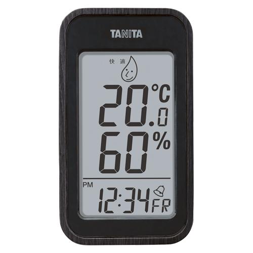 【まとめ買い10個セット品】デジタル温湿度計 TT-572BK ブラック 1個 タニタ【ECJ】