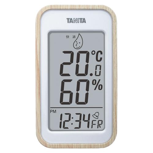 【まとめ買い10個セット品】デジタル温湿度計 TT-572NA ナチュラル 1個 タニタ【ECJ】