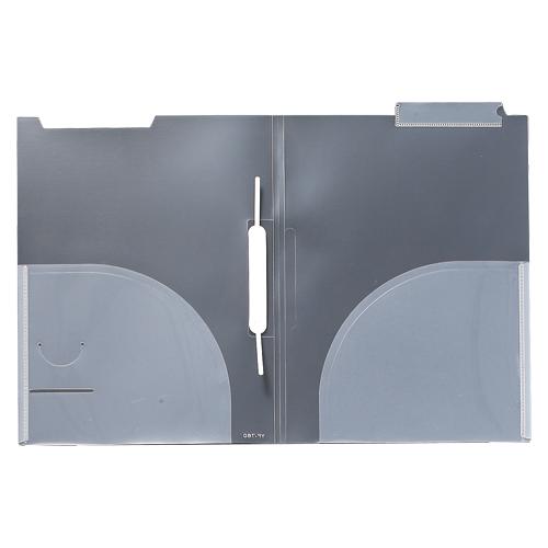 【まとめ買い10個セット品】カルテホルダーFFタイプ 見出し紙付き YF-760 クリア 10枚 山口工業【 ファイル ケース クリヤーホルダー カルテホルダー 】【ECJ】