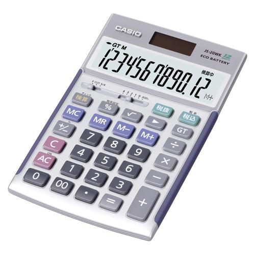 【まとめ買い10個セット品】 電卓 JS-20WK 【ECJ】