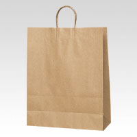 【まとめ買い10個セット品】HEIKO 手提紙袋 クラフト(50枚入)・丸紐 003282410 クラフト 50枚 シモジマ【 事務用品 マネー関連品 店舗用品 手提袋 】【ECJ】