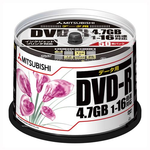 【まとめ買い10個セット品】PC DATA用 DVD-R パソコンデータ用1回記録タイプ 1-16倍速対応 DHR47JPP50 50枚 三菱化学メディア【 PC関連用品 メディア メディア収納 DVD-R 】【ECJ】