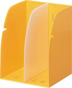 【まとめ買い10個セット品】リクエスト・ブックスタンド G1620-5 黄 1個 リヒトラブ【 事務用品 机上用品 ブックエンド 】【ECJ】