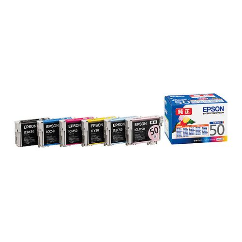 【まとめ買い10個セット品】インクジェットカートリッジ IC6CL50 1セット エプソン【 PC関連用品 トナー インクカートリッジ インクジェットカートリッジ 】【ECJ】