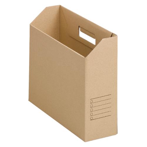 【まとめ買い10個セット品】ファイルカートン A4判ヨコ型(収納幅94mm)10個入 FB-MJ 無地 10個 山田紙器【 ファイル ケース 整理用品 ファイリングボックス 】【ECJ】