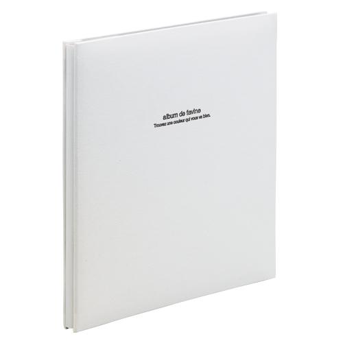 【まとめ買い10個セット品】100年台紙アルバム アH-LD-191-W ホワイト 1冊 ナカバヤシ【 ファイル ケース アルバム フォトアルバム 】【ECJ】