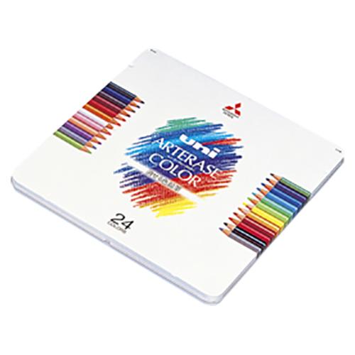 【まとめ買い10個セット品】ユニ・アーテレーズカラー UAC24C 1セット 三菱鉛筆【 筆記具 鉛筆 下じき 色鉛筆 】【ECJ】