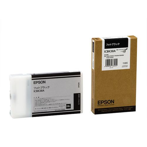 【まとめ買い10個セット品】インクジェットカートリッジ ICBK38A 1個 エプソン【 PC関連用品 トナー インクカートリッジ インクジェットカートリッジ 】【ECJ】