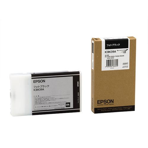 【まとめ買い10個セット品】インクジェットカートリッジ ICBK39A 1個 エプソン【ECJ】