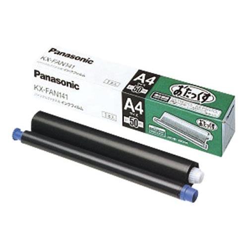 crw-69141 まとめ買い10個セット品 パナソニック ついに入荷 FAX用インクフィルム 現品 ECJ KX-FAN141 純正
