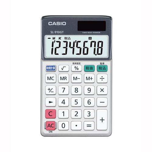【まとめ買い10個セット品】電卓 SL-910GT-N 1台 カシオ【 オフィス機器 電卓 電子辞書 電卓 】【ECJ】