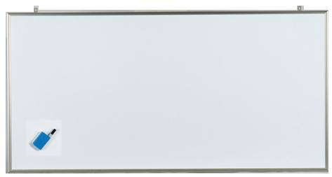 馬印 軽量ホワイトボード NVシリーズ 無地 CNV36 【ECJ】