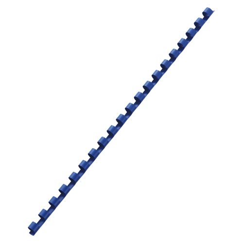 GBCドキュバインド プラスチックリング(A4・20穴) PR1620A4Z-BL ブルー 【ECJ】