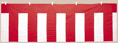 ササガワ 紅白幕 紅白ロープ付 40-6500 【ECJ】