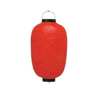 装飾用ビニール提灯 17号長型 直送品 送料別途品
