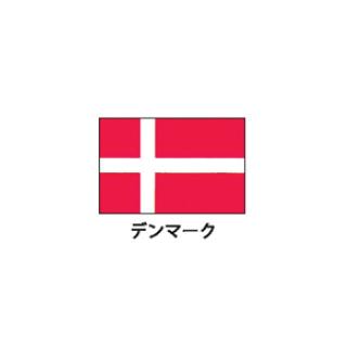 旗(世界の国旗) エクスラン国旗 デンマーク 取り寄せ商品