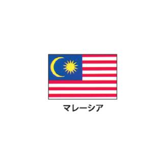 旗(世界の国旗) エクスラン国旗 マレーシア 取り寄せ商品